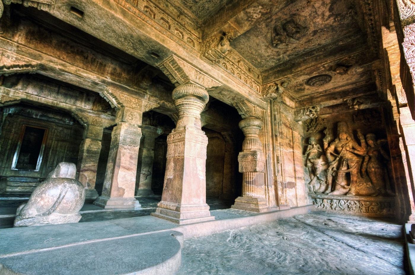 Badami Cave Temple 1