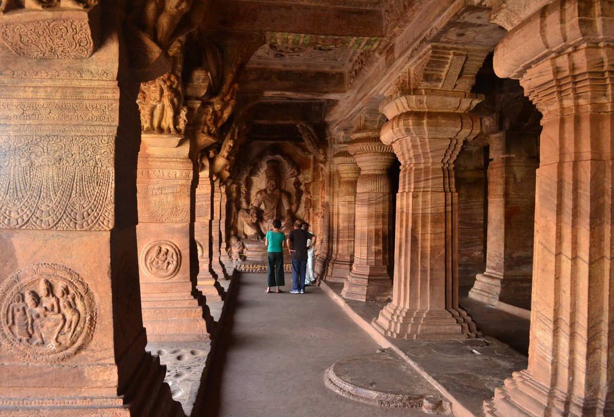 Badami Cave Temple 2