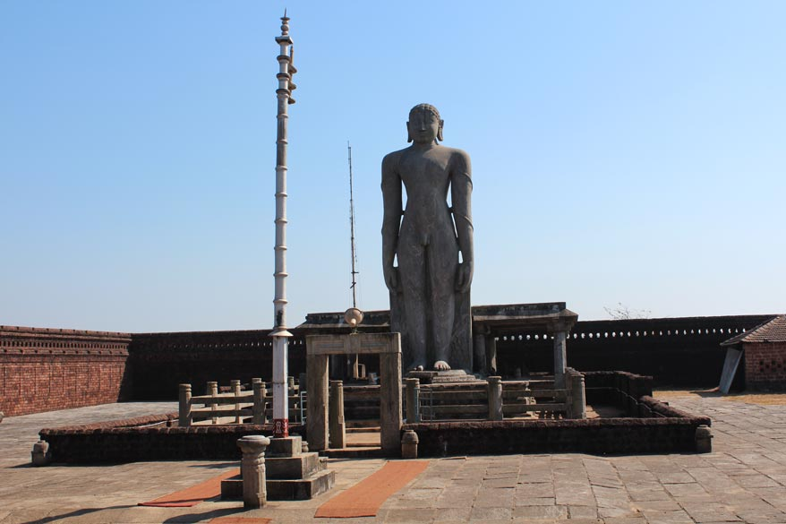 Bahubali Statue of Chaturmukha Basadi