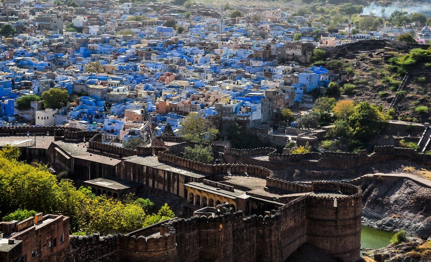 Blue City Jodhpur, Rajasthan