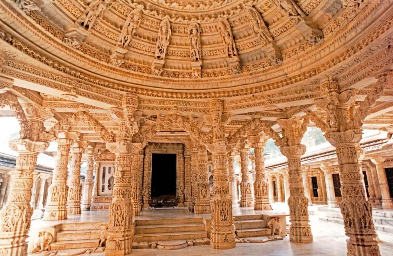 Inside Dilwara Temple, Mount Abu