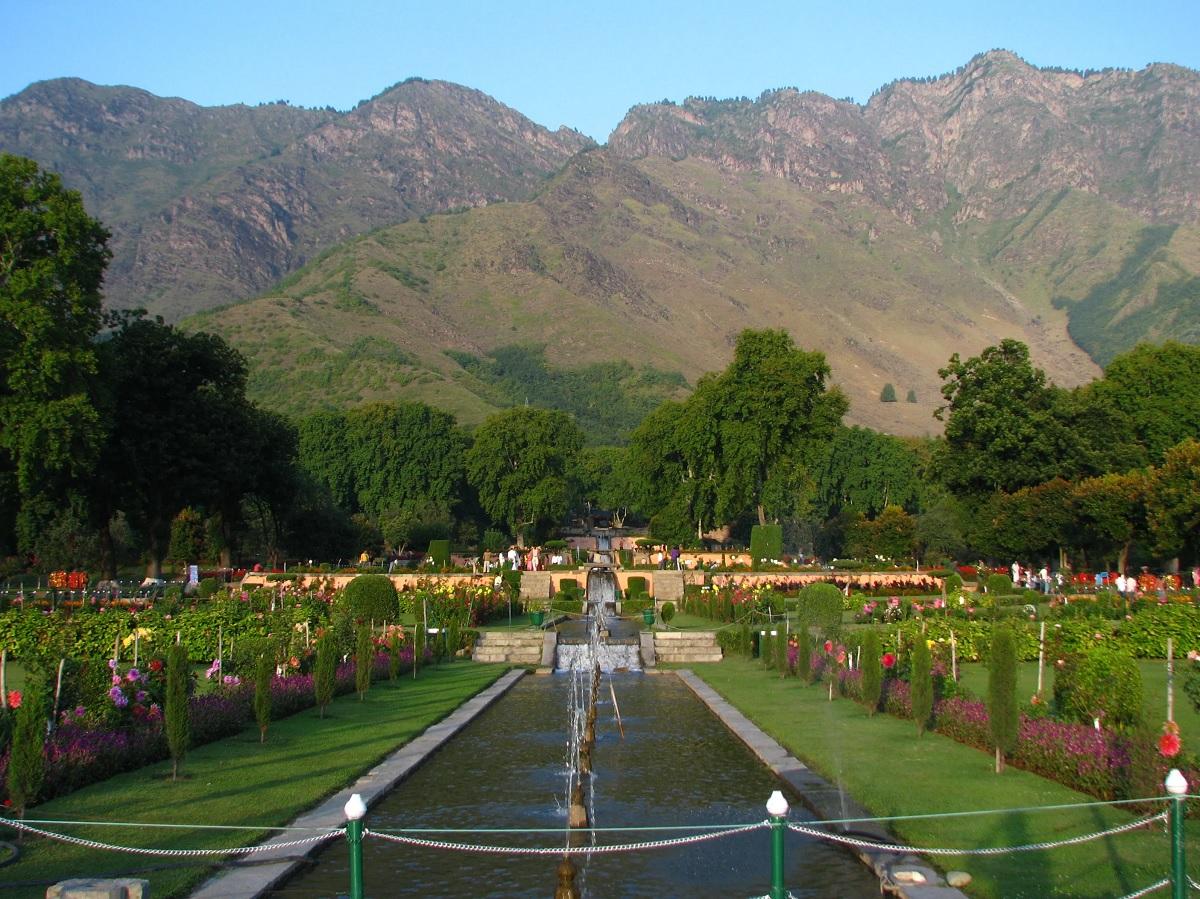 Nishat Garden Kashmir