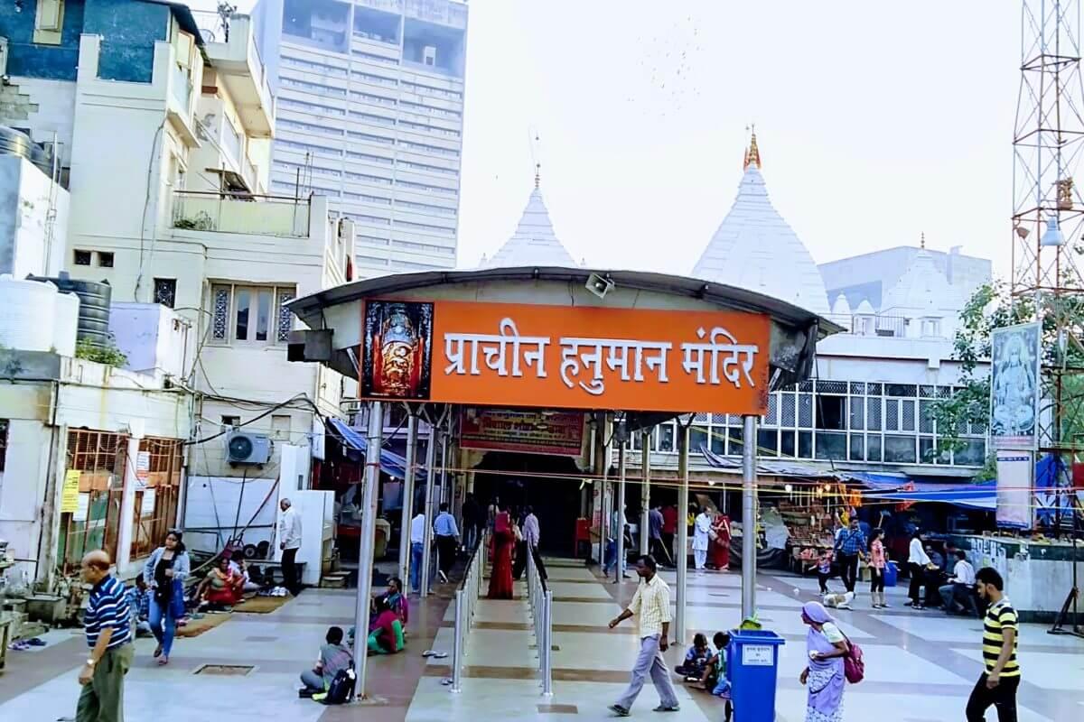 Prachin Hanuman Mandir, Connaught Place