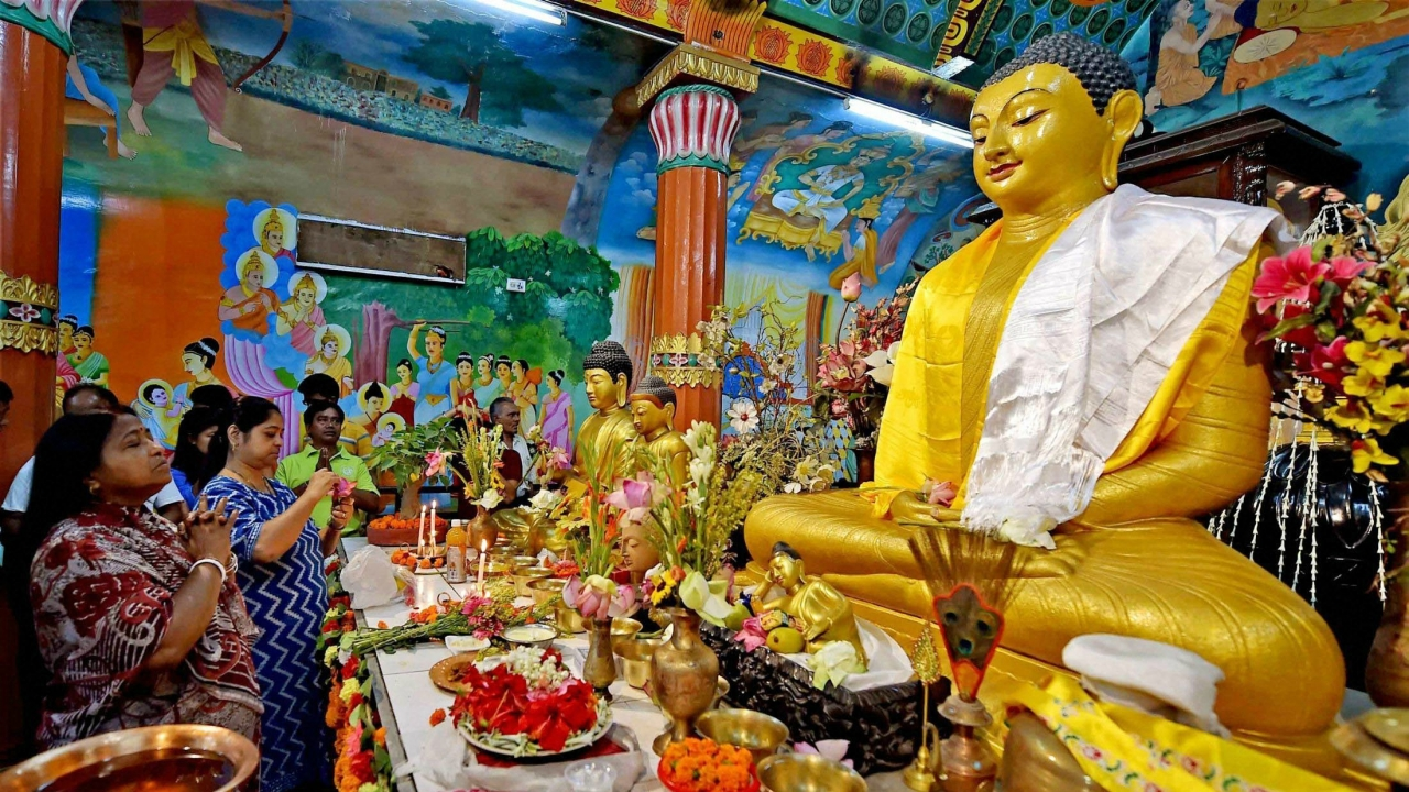 Buddha Purnima Celebration India