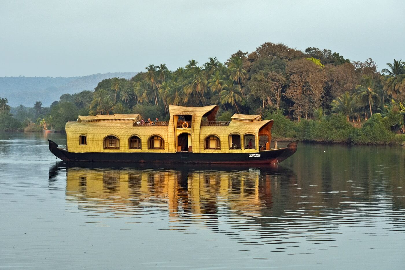 Goa Backwater Houseboat