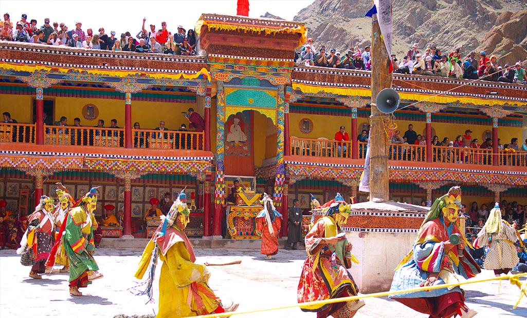 Hemis Festival in India