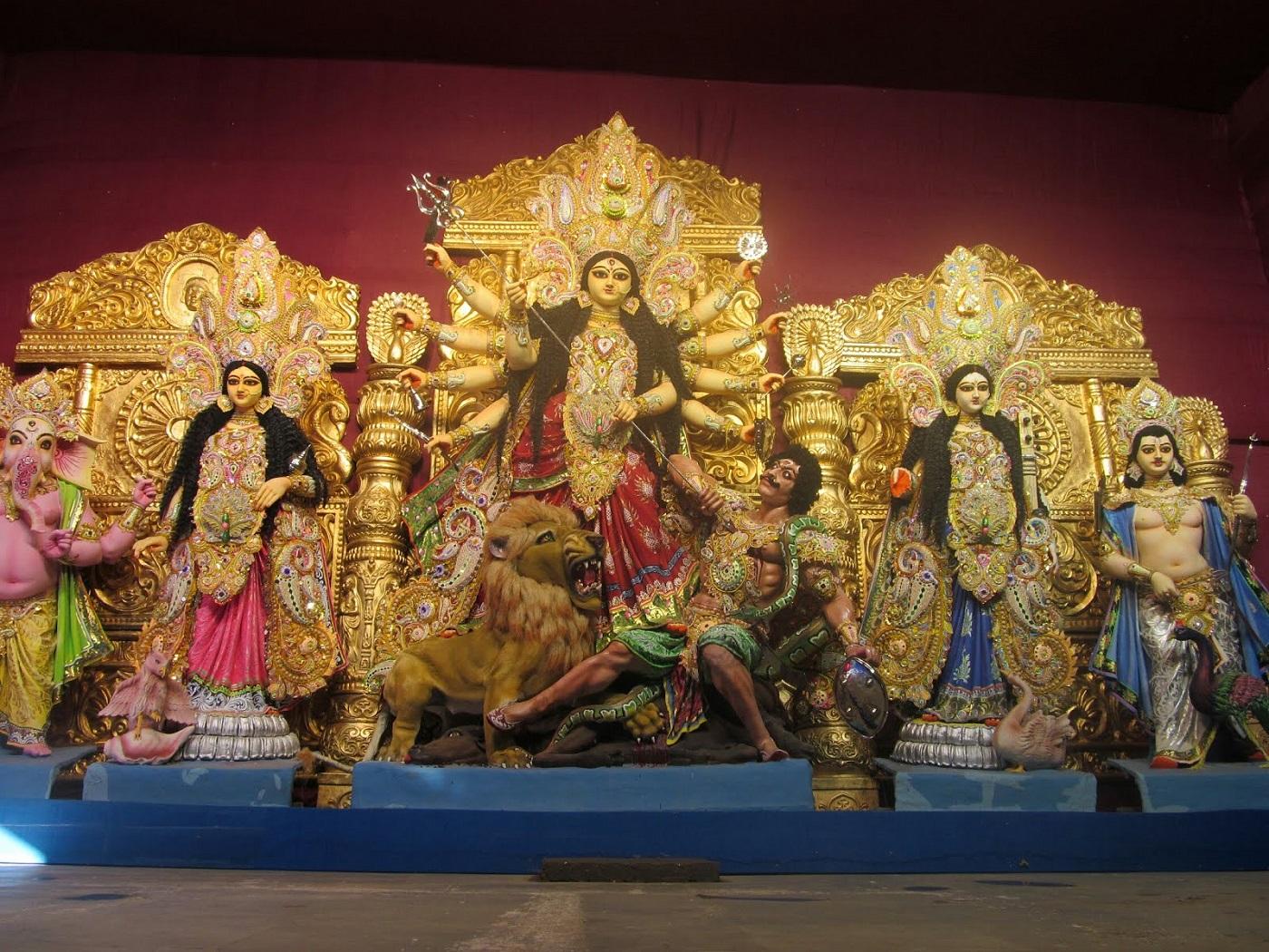 Santosh Mitra Square Durga Puja, Kolkata