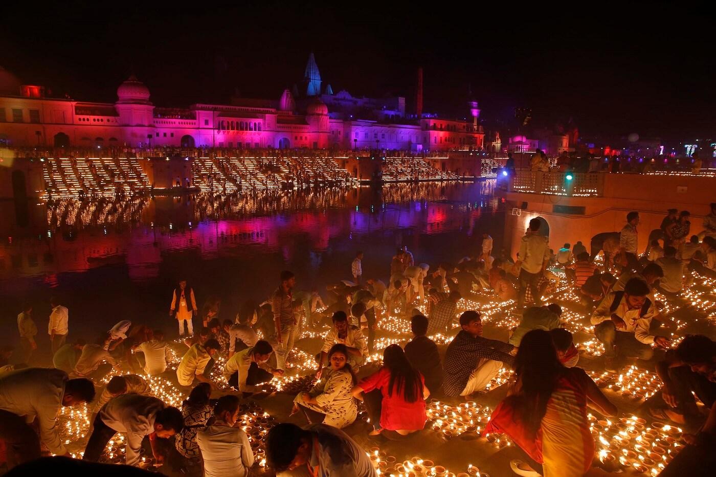 Diwali Celebration in Ayodhya