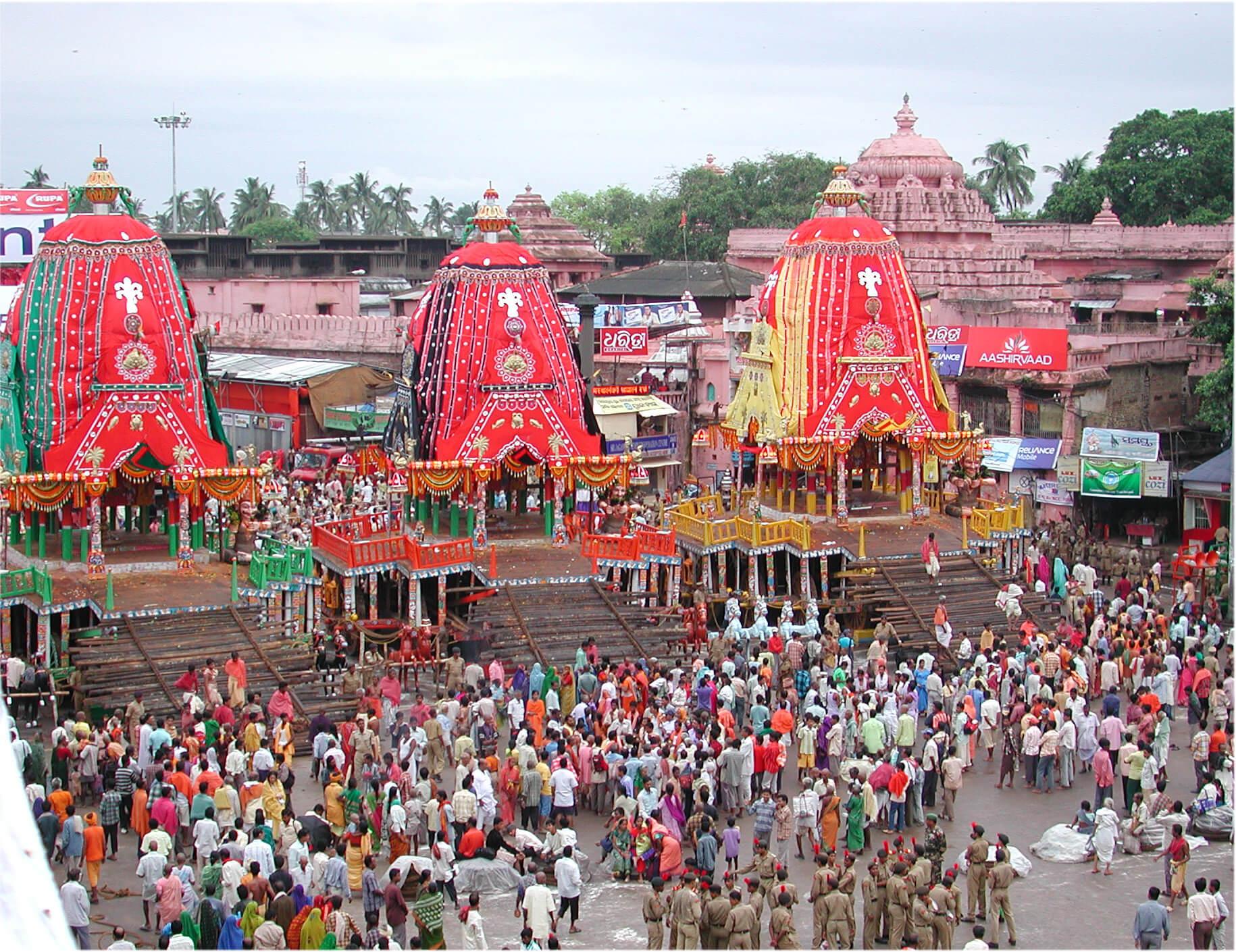 Puri Rath Yatra in June