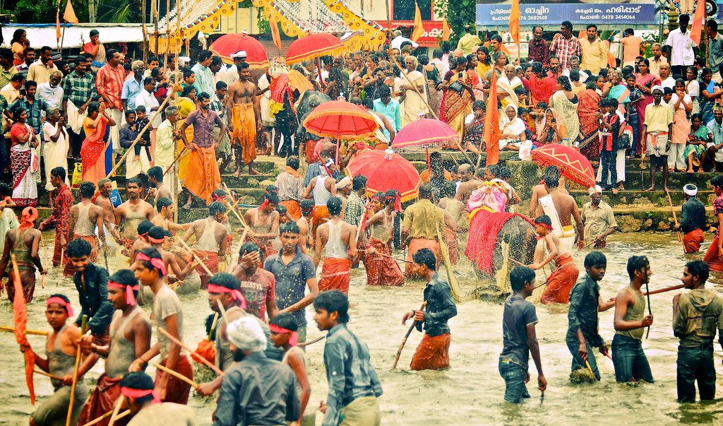 Ochira Kali, Kerala