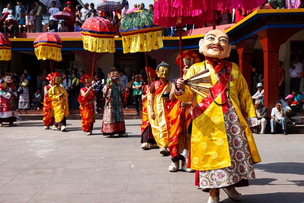 Saga Dawa Festival in Gangtok