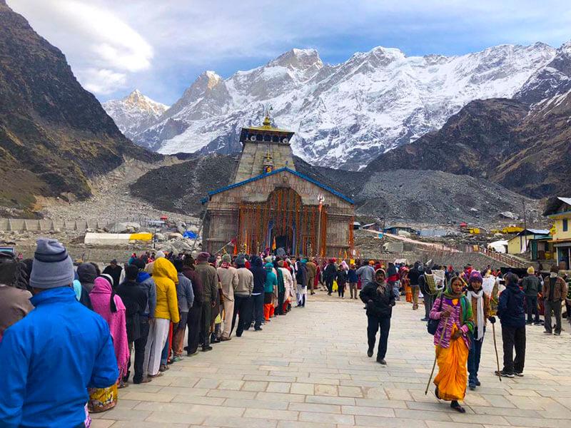 kedarnath temple opening